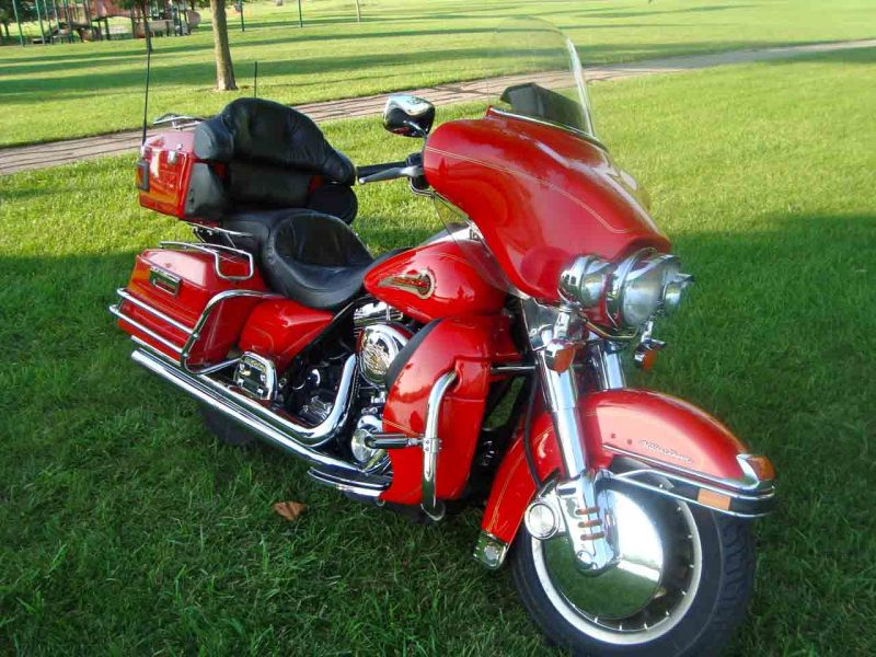 2002 Harley Davidson UltraClassic Fire Fighter Edition