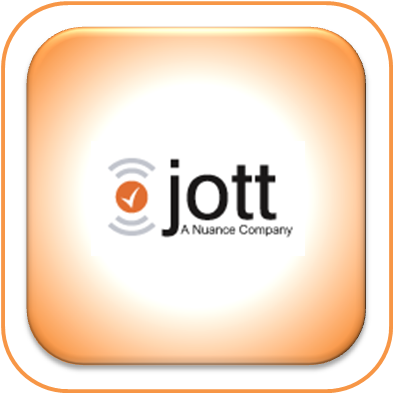 create a task using your voice how to use jott with
