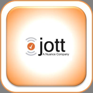 Jott Logo Button